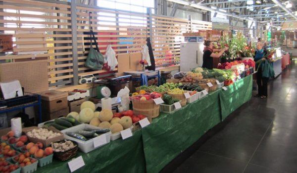 Halifax Farmers Market Veg Stall