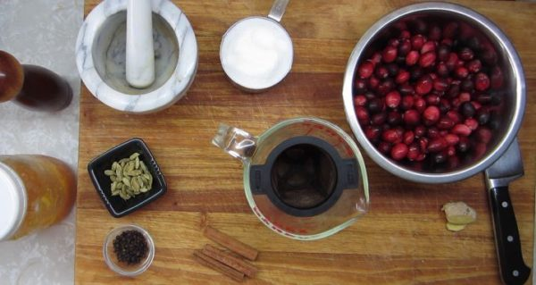 Fresh Berry Cranberry Sauce