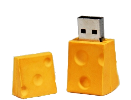 cheese usb