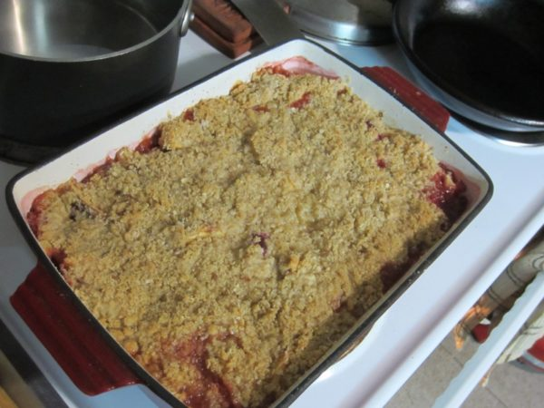 Quick Cobbler For Cold Nights